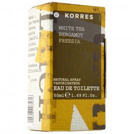 KORRES WHITE TEA BERGAMOT FREESIA PERFUME 50ML