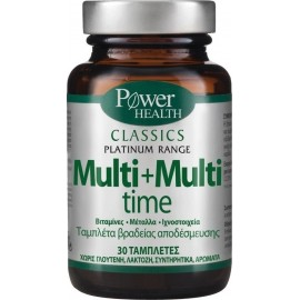 POWER HEALTH CLASSICS PLATINUM MULTI + MULTI TIME 30TABS