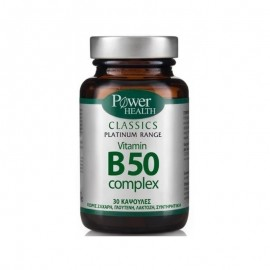 POWER HEALTH PLATINUM VITAMIN B50 COMPLEX 30TABS