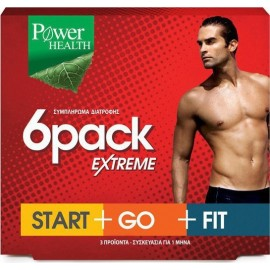 POWER HEALTH 6 PACK EXTREME 90CAPS