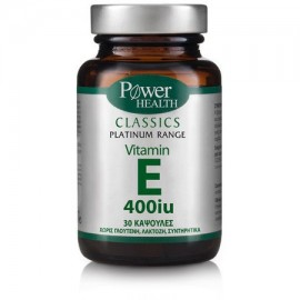 POWER HEALTH PLATINUM VITAMIN E 400IU 30CAPS