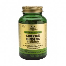 SOLGAR SIBERIAN GINSENG ROOT EXTRACT 60 VCAPS
