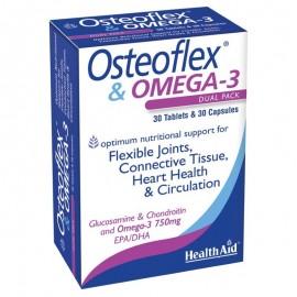 HEALTH AID OSTEOFLEX & OMEGA-3 30TABS