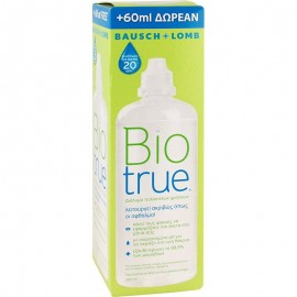 BAUSCH & LOMB BIO TRUE 300ML + 60ML ΔΩΡΟ