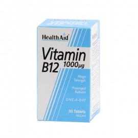 HEALTH AID B12 1000MG 50 TABS