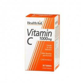 HEALTH AID VITAMIN C 1000MG CHEWABLE 30TABS