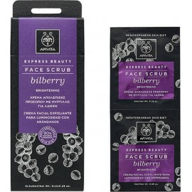 APIVITA EXPRESS BEAUTY FACE SCRUB BILBERRY