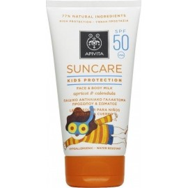 APIVITA SUNCARE KIDS PROTECTION FACE & BODY MILK SPF50 150ML