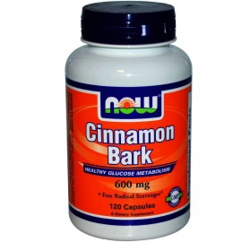 NOW CINNAMON BARK 600MG 120CAPS