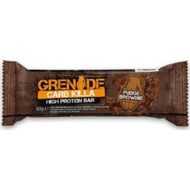 GRENADE DUKAN CARB KILLA BAR 60GR - FUDGE BROWNIE