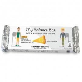 POWER HEALTH MY BALANCE BAR ΓΕΥΣΗ LEMON PIE 35GR