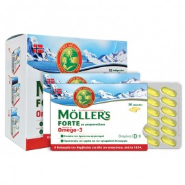 MOLLERS FORTE OMEGA3 150CAPS