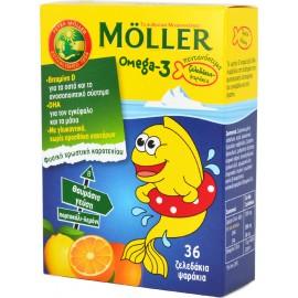 MMOLLERS OMEGA-3 KIDS GUMMIES 36TMX