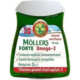 MOLLERS FORTE OMEGA 3 60CAPS