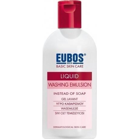 EUBOS LIQUID WASHING EMULSION RED 200ML