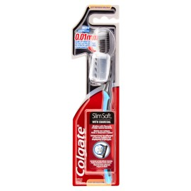 COLGATE SLIM SOFT WITH CHARCOAL 0.01MM