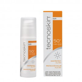 TECNOSKIN SUN PROTECT FLUID 50+ 50ML