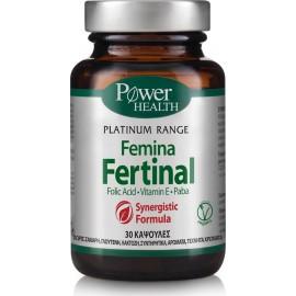 POWER HEALTH PLATINUM RANGE FEMINA FERTINAL 30CAPS