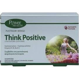 POWER HEALTH PLATINUM RANGE THINK POSITIVE 30CAPS