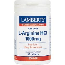 LAMBERTS L-ARGININE HCI 1000MG 90TABL