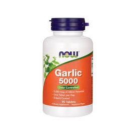 NOW FOODS GARLIC 5000 90 TABS