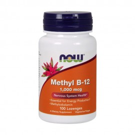 NOW METHYL B-12 1000MCG METHYLCOBALAMIN 100 LOZENGES