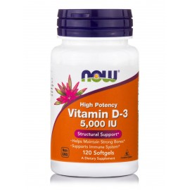 VITAMIN D-3 5000IU120 SOFT GELS