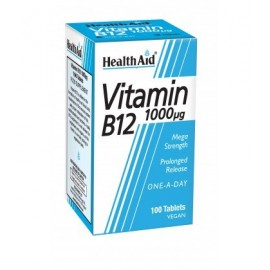 HEALTH AID VITAMIN Β12 1000MG 100 VTABS