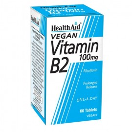 HEALTH AID VITAMIN B2 100MG 60 TABS