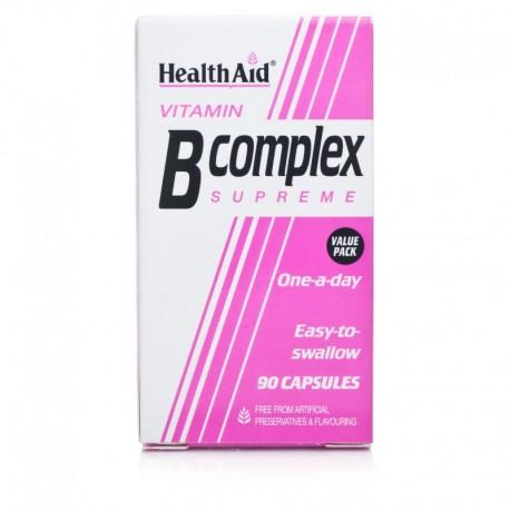 HEALTH AID B-COMPLEX 90CAPS