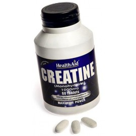 HEALTH AID CREATINE 1000MG 60TAB