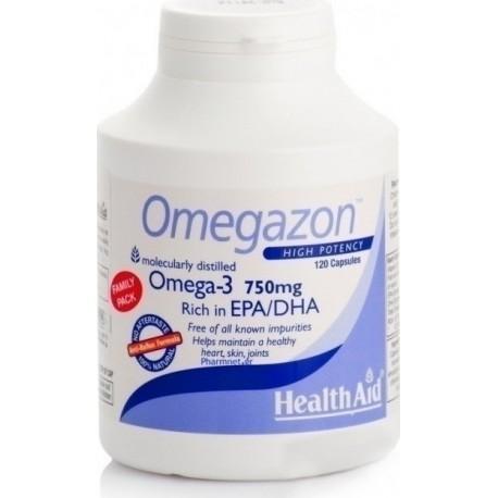 HEALTH AID OMEGAZON 750mg 120caps