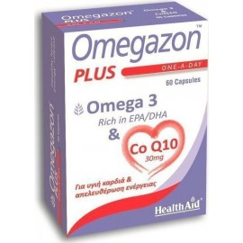 HEALTH AID OMEGAZON PLUS OMEGA 3 CoQ10 60CAPS