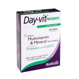 HEALTH AID DAY VIT PROBIO PROBIOT.&CoQ10 30TABS