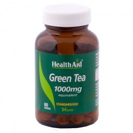 HEALTH AID GREEN TEA EXTRACT 1000MG 60TAB