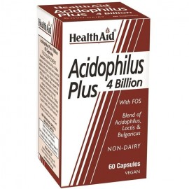 HEALTH AID ACIDOPHILUS 4 BILLION 60CAPS