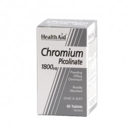 HEALTH AID CHROMIUM  1800MG 60 VTABS