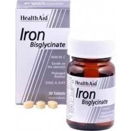 HEALTH AID IRON BISGLYCINATE 30 TABS
