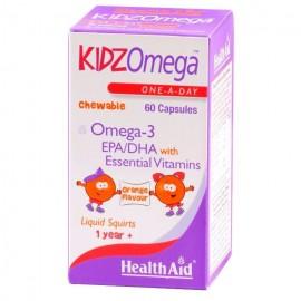 HEALTH AID KIDZ OMEGA ORANGE 60CAPS