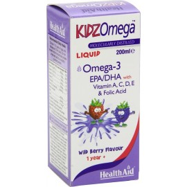 HEALTH AID KIDZ OMEGA LIQUID BERRY