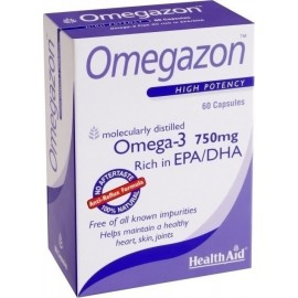 HEALTH AID OMEGAZON 750MG 60CAPS