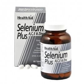 HEALTH AID SELENIUM PLUS 60TABS