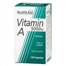 HEALTH AID VITAMIN A 5000IU 100TABS