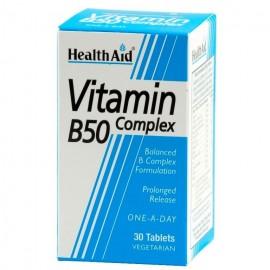 HEALTH AID B50 COMPLEX  30 TABS