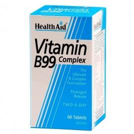 HEALTH AID VITAMIN B99 COMPLEX 60TABS