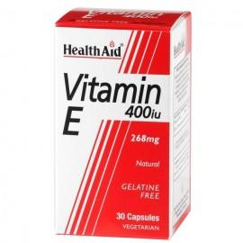 HEALTH AID VITAMIN E 400IU 30CAPSS
