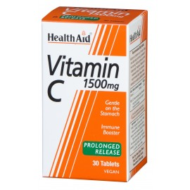 HEALTH AID VITAMIN C 1500MG 30TABS