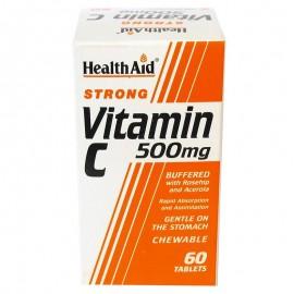 HEALTH AID VITAMIN C 500MG 60TABS