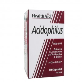 HEALTH AID ACIDOPHILUS 60 CAPS