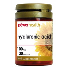 POWER HEALTH HYALOURONIC ACID 100MG 30CAPS